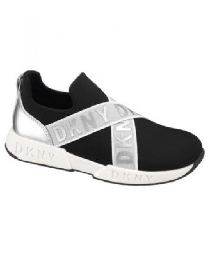 ihocon: DKNY Little Girls Slip On Sneaker 女童運動鞋