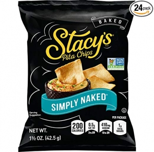 Stacy's Simply Naked Pita Chips 24包 $9.12免運(原價$14.03)
