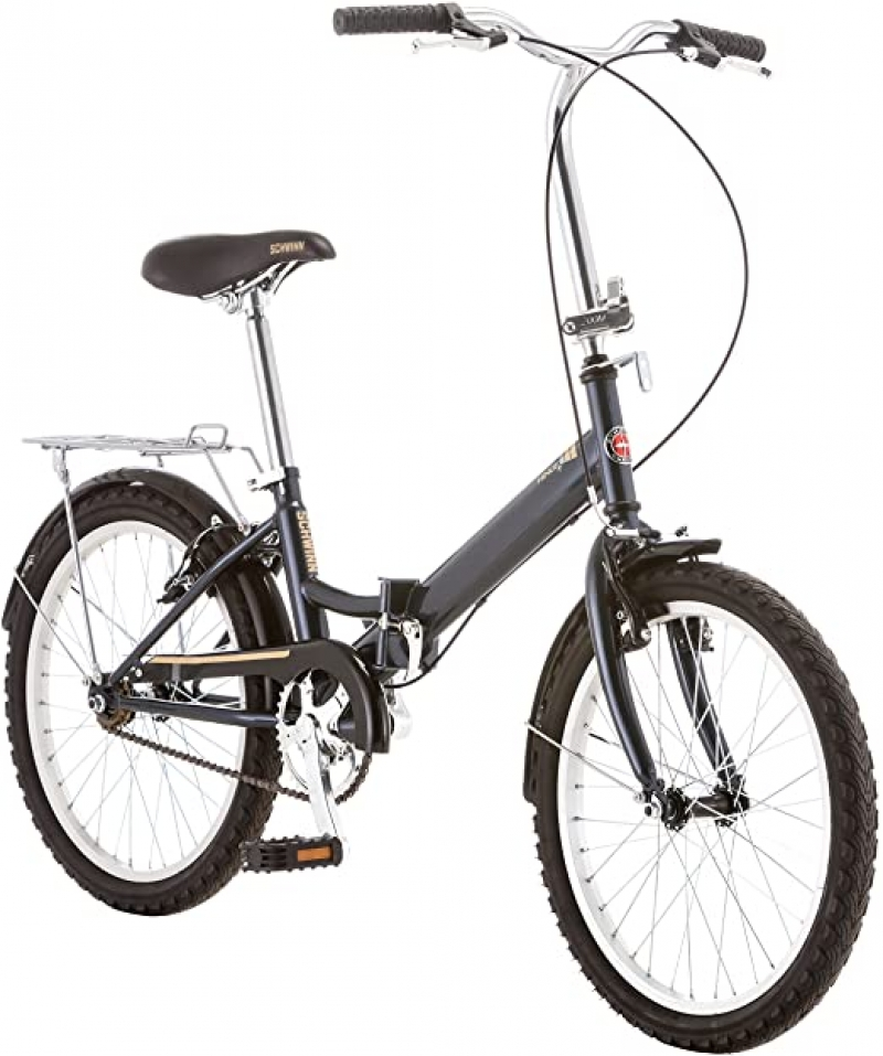 ihocon: Schwinn Hinge Folding Bike, 20-Inch Wheels 折疊自行車