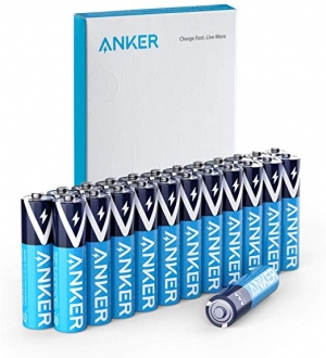 ihocon: Anker Alkaline AAA Batteries (24-Pack)電池