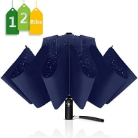 ihocon: Wsky 12 Ribs Inverted Umbrella 自動開/關反向傘 (46吋)
