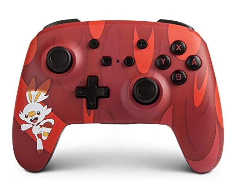 Nintendo Switch 無線控制器 – PowerA Pokemon Scorbunny $29.69(原價$49.99)