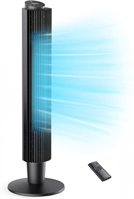 ihocon: TaoTronics Tower Fan with 5 Fan Speeds 五段風速風扇