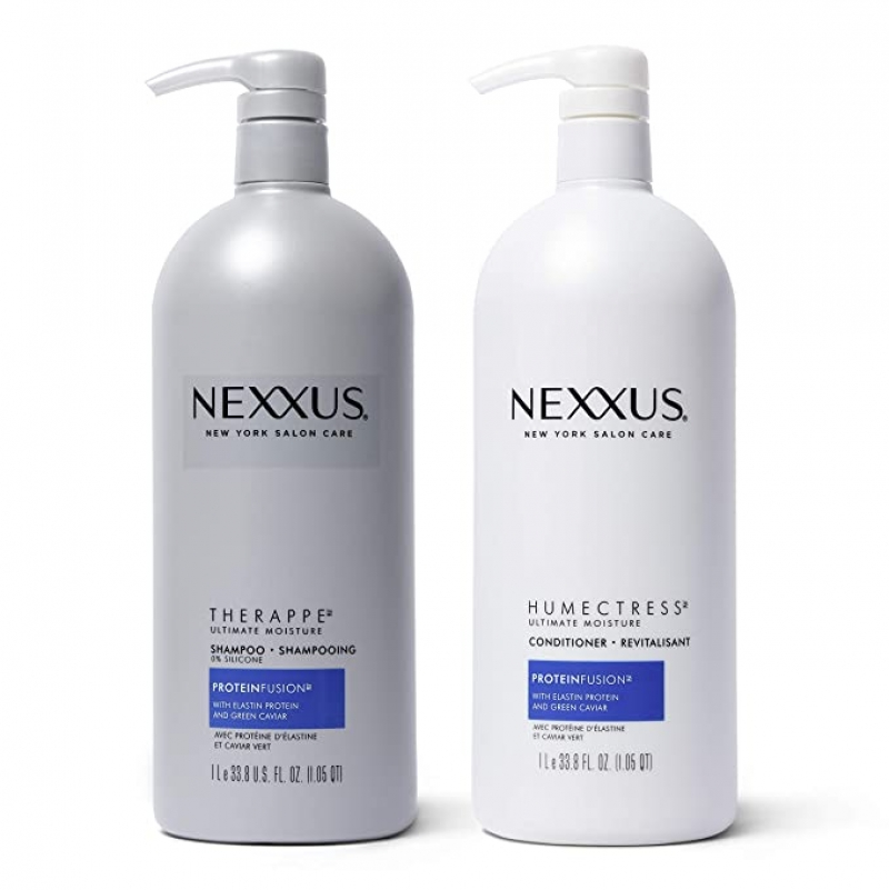 ihocon: Nexxus Shampoo and Conditioner for Dry Hair Therappe, 33.8 oz 2 Count 洗髮乳及和護髮乳