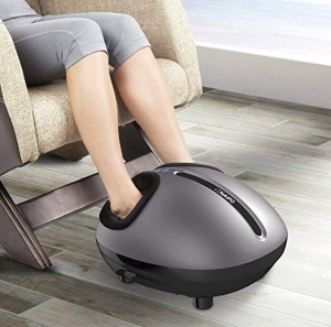 ihocon: Naipo Foot Massager Deep Shiatsu Kneading Massage with Heat and Adjustable加熱指壓腳部按摩器