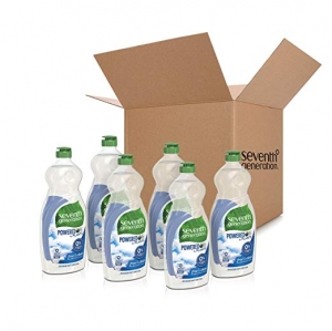 ihocon: Seventh Generation Dish Liquid Soap, Free & Clear, 25 oz, Pack of 6 洗碗液精