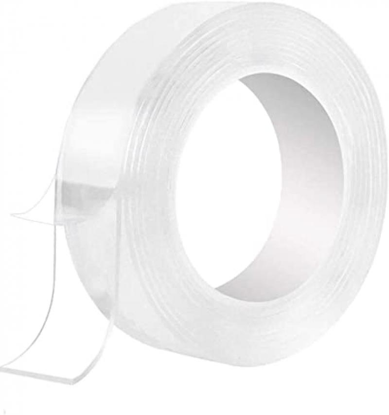 ihocon: Nano Double Sided Tape(16.5ft) 可重複使用無痕雙面膠帶