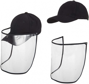 ihocon: Cosweet Protective Hat with Face Mask-Isolate Sunscreen 防曬帽, 含可拆式臉部護罩