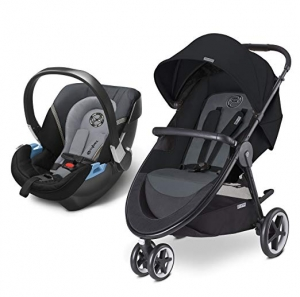 ihocon: CYBEX Agis M-Air 3/Aton 2/Aton Base 2 Travel System (Moon Dust) 嬰兒推車及汽車座椅