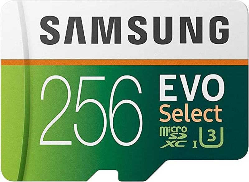 ihocon: Samsung EVO Select microSDXC UHS-I U3記憶卡, 含Adapter 256GB