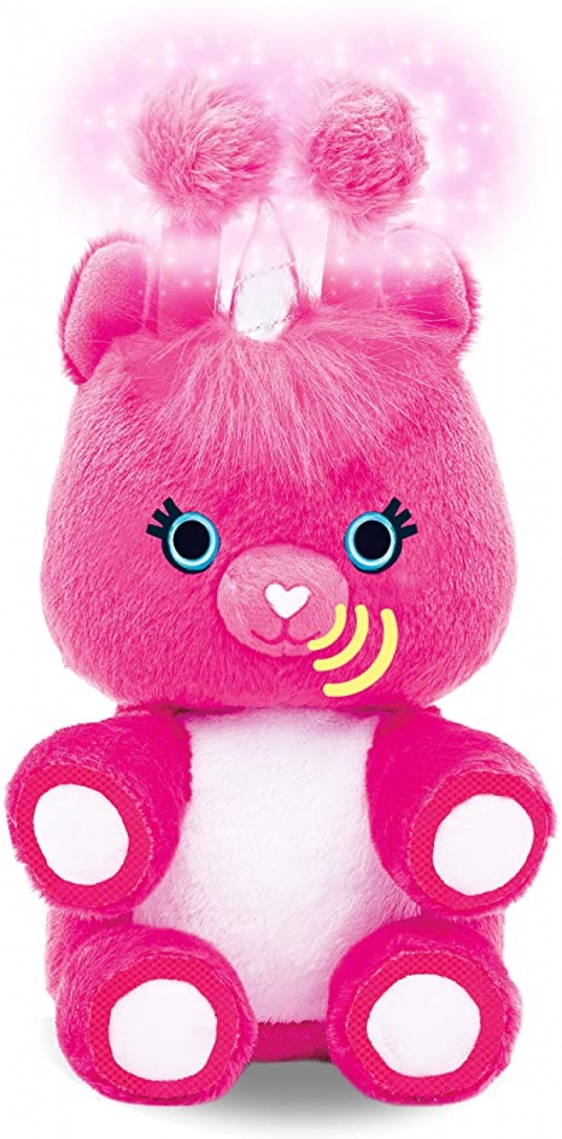 ihocon: [Amazon Echo互動玩偶] Fuzzible Friends Sparkles The Unicorn Plush Light Up Toy – Works with Compatible Amazon Echo Devices for Interactive Activities and Sounds