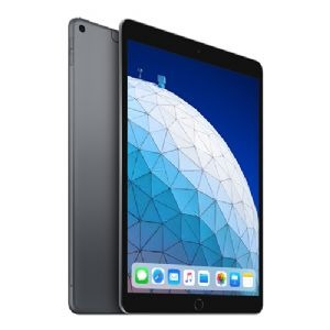 ihocon: Apple iPad Air 10.5 256GB Wi-Fi + Cellular Tablet (Space Gray) (Latest Model)