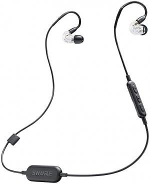 ihocon: Shure SE215-CL-BT1 Wireless Sound Isolating Earphones with Bluetooth Enabled Communication Cable 藍牙無線隔噪耳機