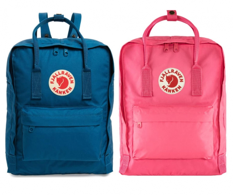 ihocon: FJALLRAVEN Kånken Water Resistant Backpack 防潑水背包-多色可選