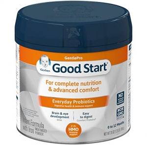 ihocon: Gerber Good Start Gentle (HMO) Non-GMO Powder Infant Formula, Stage 1, 20 Ounce (Pack of 6)嬰兒奶粉