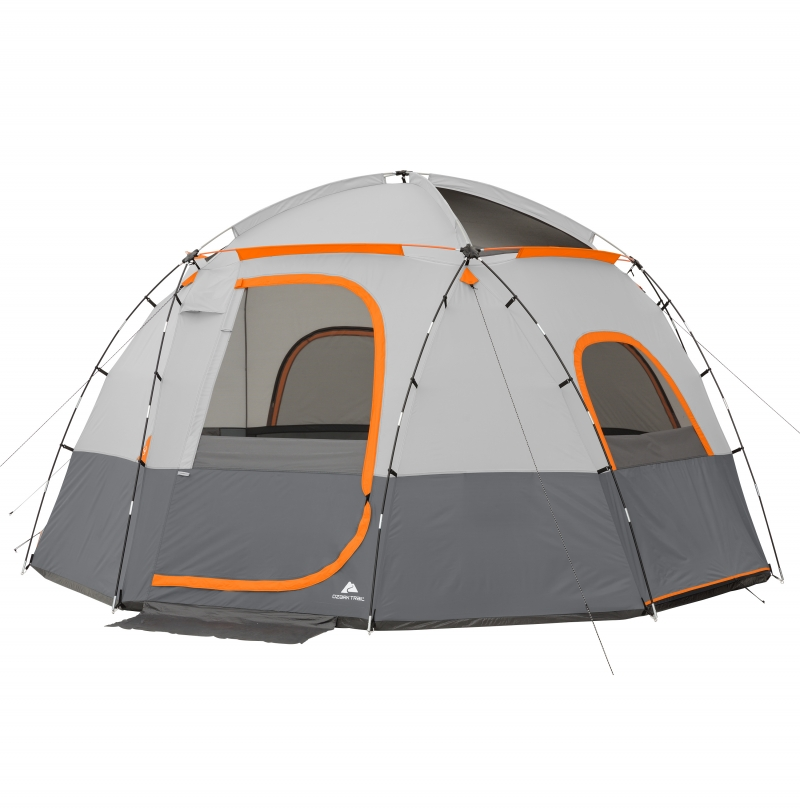ihocon: Ozark Trail 15' x 15' 9-Person Lighted Sphere Tent   9人帳