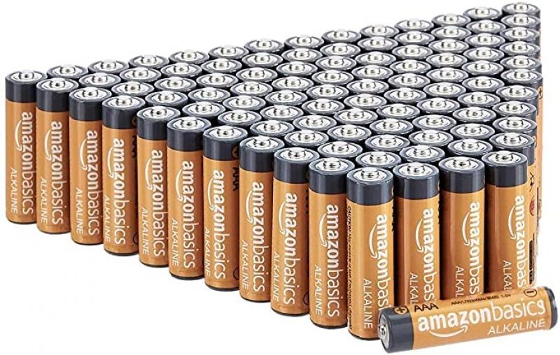 ihocon: Amazon Basics 100 Pack AAA High-Performance Alkaline Batteries電池