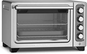 ihocon: KitchenAid KCO253CU 12-Inch Compact Convection Countertop Oven 桌上型烤箱