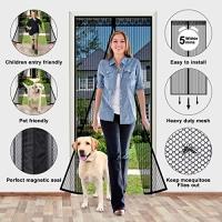 ihocon: Vincrey Magnetic Screen Door, Fits Doors Up to 39 x 82 磁性紗門