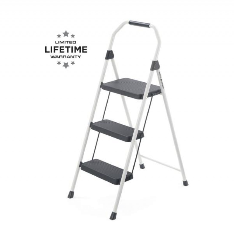 ihocon: Gorilla Ladders 3-Step Compact Steel Step Stool with 225 lb.  三層梯