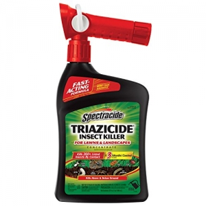 ihocon: Spectracide Triazicide Insect Killer For Lawns & Landscapes Concentrate, Ready-to-Spray, 32-Ounce 草坪及庭園殺蟲劑