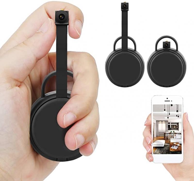 ihocon: Fulao 1080p HD Mini Hidden Wi-Fi Security Camera 迷你隱藏式攝像機