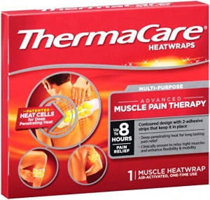 ihocon: ThermaCare Advanced Multi-Purpose Muscle Pain Therapy Heatwraps, Up to 8 Hours of Pain Relief, 1 Count (Pack of 1) 肌肉酸痛貼布