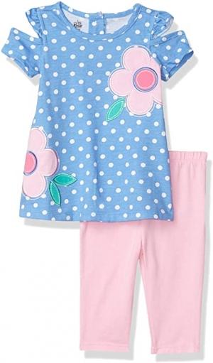 ihocon: Kids Headquarters Baby Girls' Leggings Set 幼兒童裝一套, size: 12個月