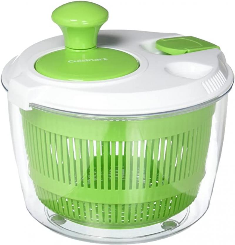 ihocon: Cuisinart Salad Spinner, Green 沙拉瀝水轉盆