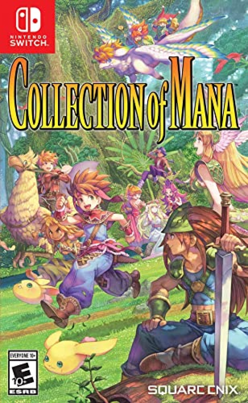 ihocon: Nintendo Switch遊戲 - Collection of Mana