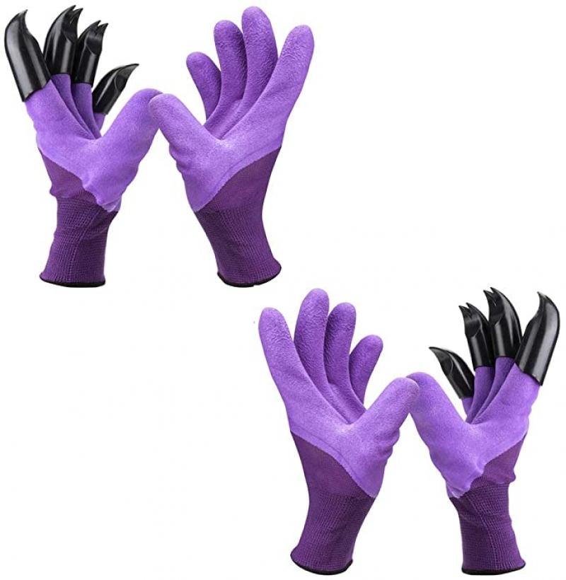 ihocon: inforest Garden Genie Gloves with Claws園藝手套 2副