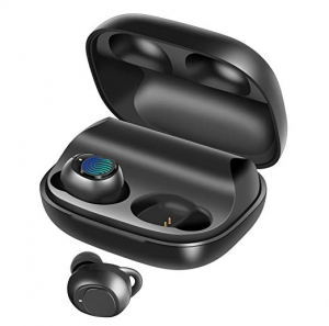 ihocon: BassPal IPX7 Waterproof Bluetooth 5.0 Headphones w/Mic and 2200mAh Rechargeable Case真無線藍牙耳機含2200mAh充電盒