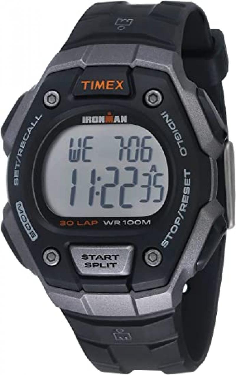 ihocon: [男, 女均適用] Timex Ironman Classic 30 Full-Size 38mm Watch 天美時手錶
