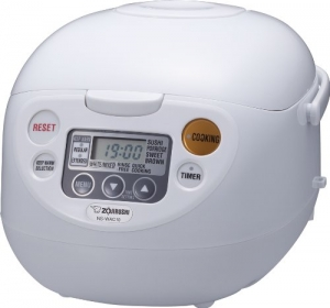 ihocon: Zojirushi NS-WAC10-WD 5.5-Cup (Uncooked) Micom Rice Cooker and Warmer 電飯鍋