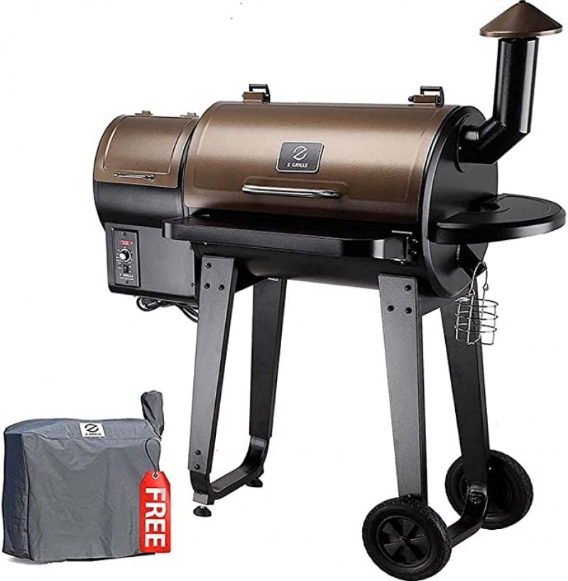 ihocon: Z GRILLS ZPG-450A 2020 Upgrade Wood Pellet 6-in-1 BBQ Grill & Smoker 6合1 自動溫度控制 燒烤/煙熏爐