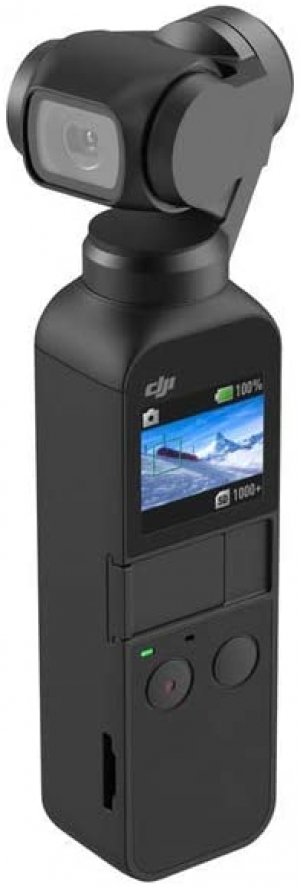 "ihocon: DJI Osmo Pocket Handheld 3-Axis Gimbal Stabilizer with integrated Camera 12 MP 1/2.3"" CMOS 4K Video口袋型手持三軸穩定相機"
