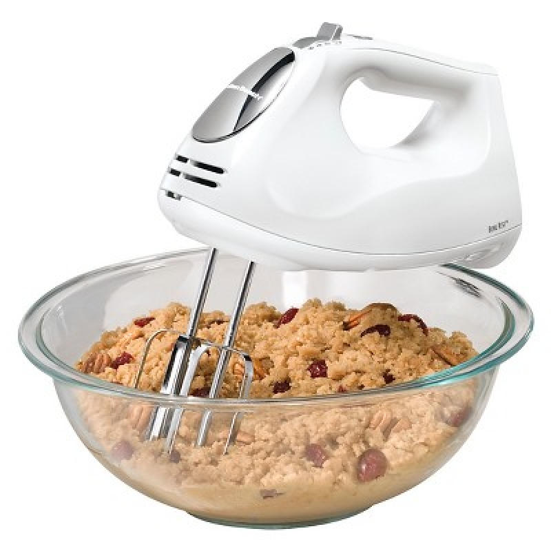 ihocon: Hamilton Beach 6-Speed Hand Mixer with Case 6段速手持電動攪拌機