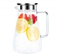 ihocon: Hwagui Heat Resistant Glass Pitcher 1800ml/61oz 玻璃水瓶