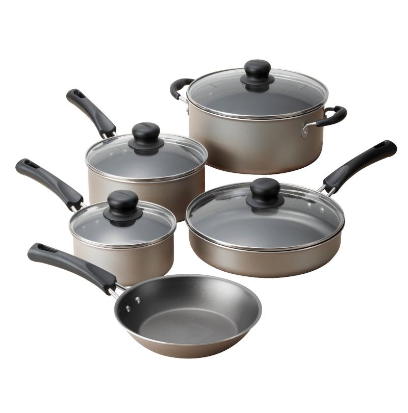 ihocon: Tramontina Tramontina 9-Piece Non-Stick Cookware Set不沾鍋組