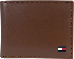ihocon: Tommy Hilfiger Men's Leather Wallet 男士皮夾