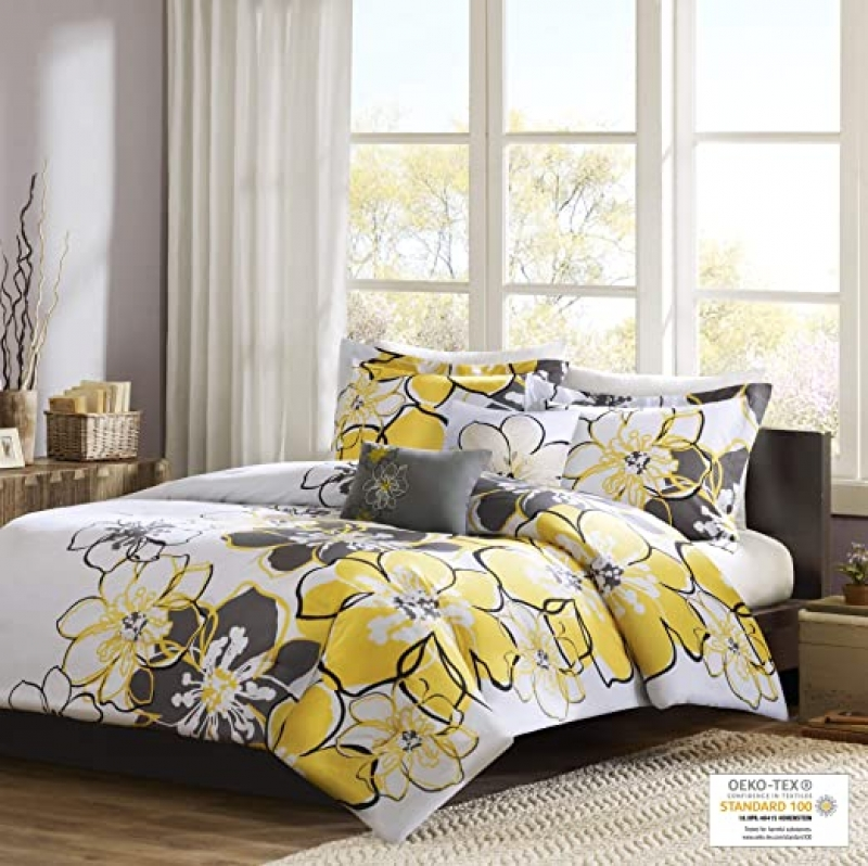 ihocon: Mi Zone Allison Comforter Set, Full/Queen 棉被套裝組(被子+枕頭+抱枕)