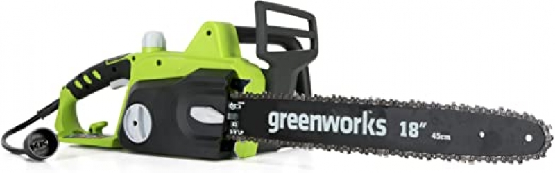 ihocon: Greenworks 18-Inch 14.5 Amp Corded Electric Chainsaw 電鋸(有線)
