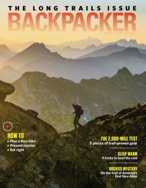 Backpacker背包客雜誌一年10期 $4.99(原價$35.91)
