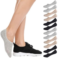 ihocon: BESTENA 6 Pairs No Show Socks For Women(US Womens Shoe 5-8) 女襪