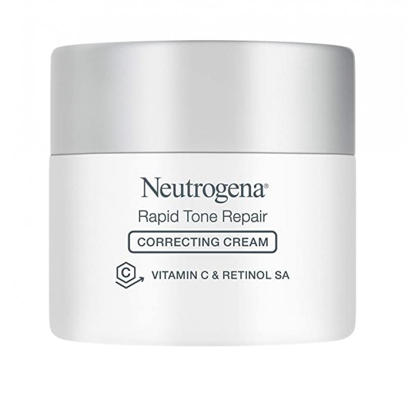 ihocon: Neutrogena Rapid Tone Repair Vitamin C Brightening Tone Evening Face Neck and Chest Cream, 1.7 Ounce 露得清美白膚色修復霜