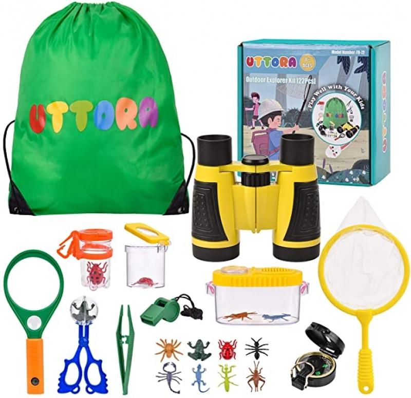 ihocon: UTTORA Outdoor Explorer Kit Gifts Toys(22 PCS) 兒童戶外探險玩具