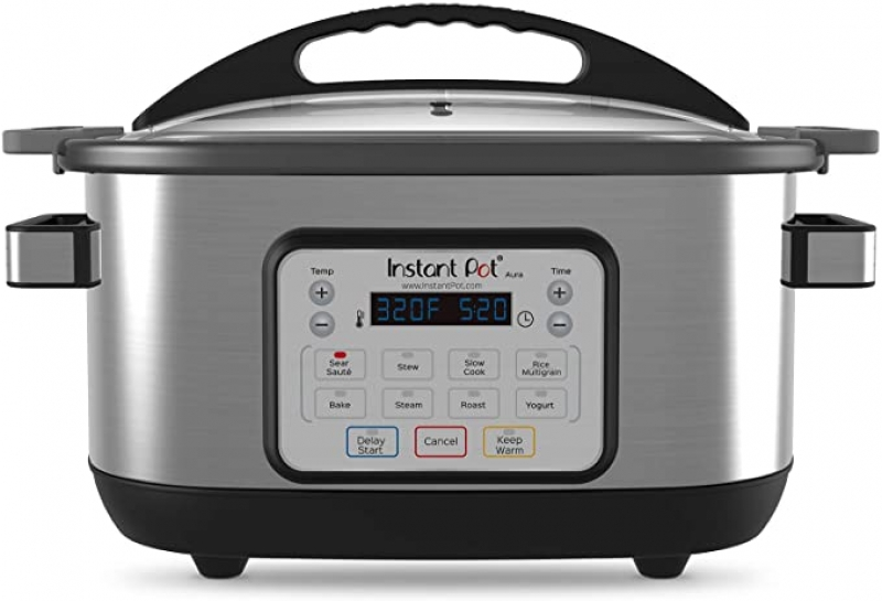ihocon: Instant Pot Aura Multi-Use Programmable Slow Cooker, 6 Quart 多功能慢燉鍋