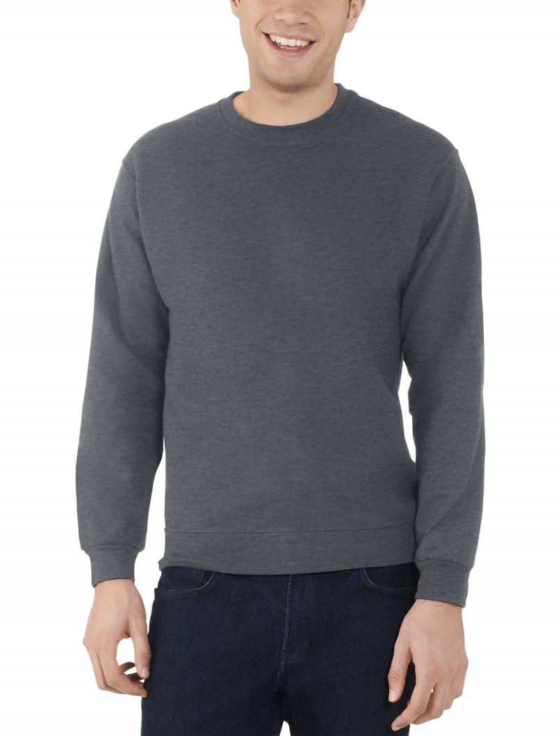 ihocon: Fruit of the Loom Men's and Big Men's Eversoft Fleece Crew Sweatshirt 男士長袖衫