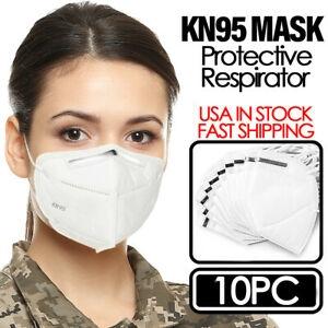 ihocon: KN95 Disposable Protective Face Mask Respirator (10 PCS)