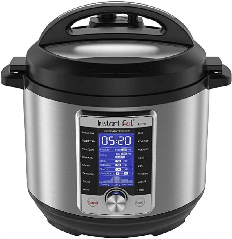 [今日特賣] Instant Pot Ultra 10合1 電壓力鍋 特價優惠: 6Qt $99.99 / 8Qt $109.99
